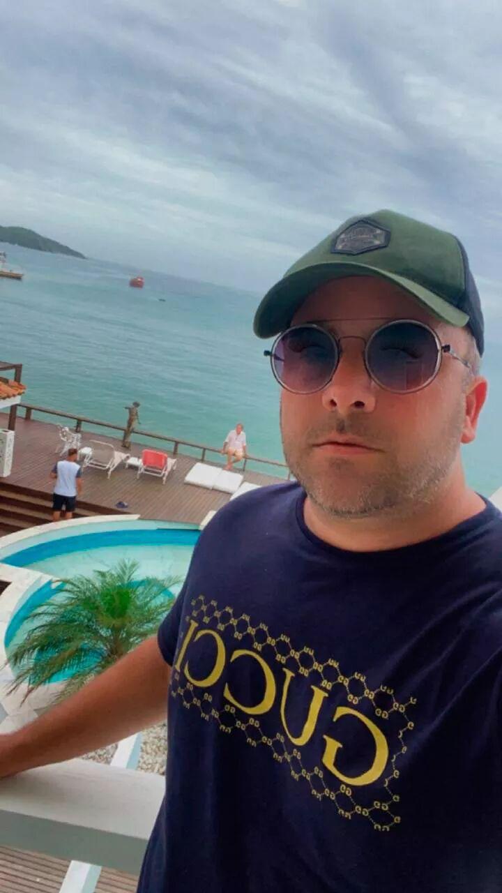 Ramon Souza, subiu novamente o fim de semana para Búzios