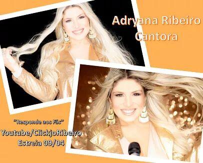 Cantora Adryana Ribeiro responde aos fãs Canal Click Jo Ribeiro