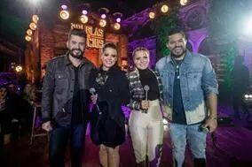 Maiara e Maraísa, Zé Neto e Cristiano e Tierry participam do DVD de Douglas e Vinícius