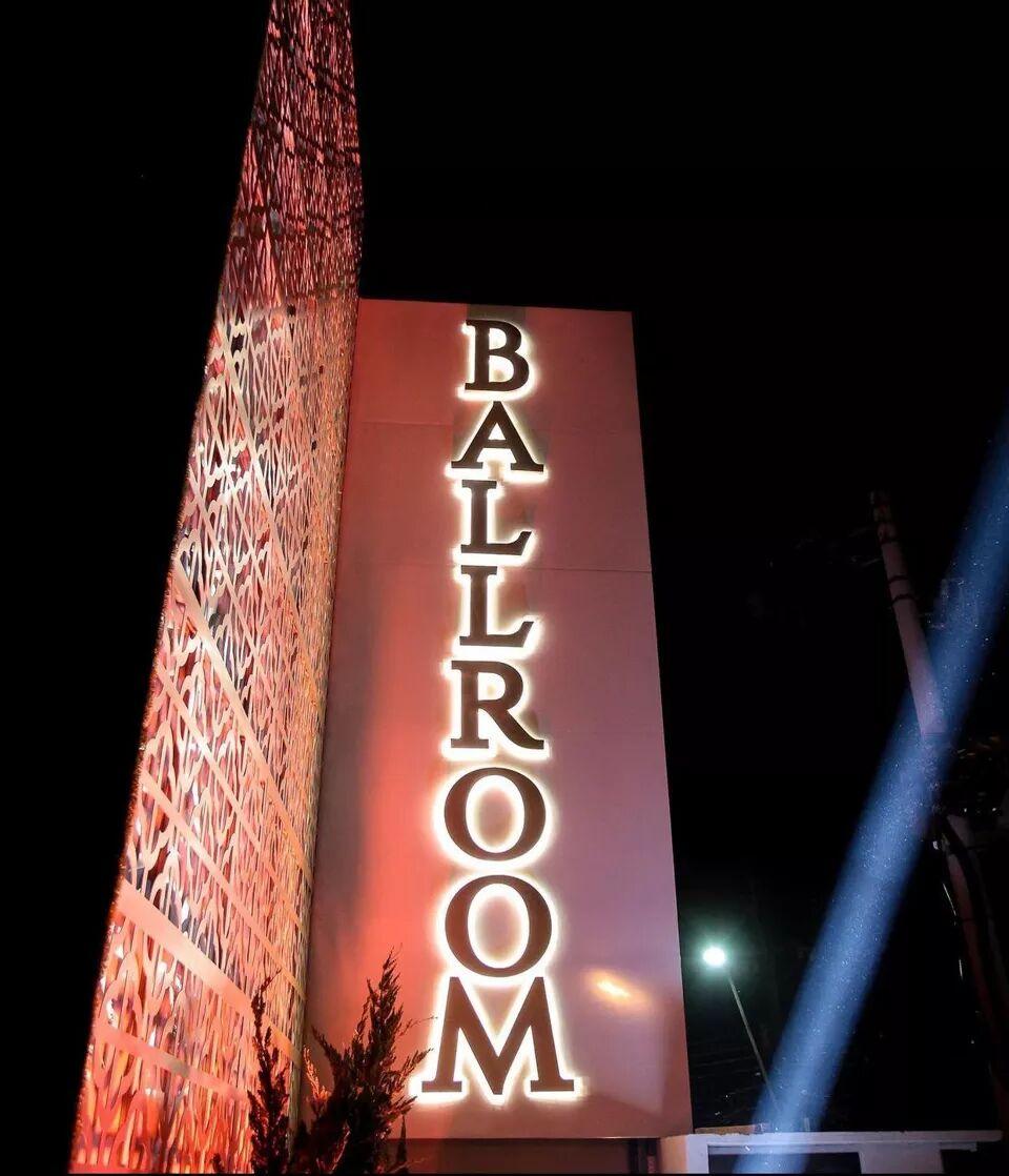 Evento de inauguração Ballroom